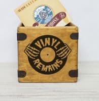 Custom Black Logo Record Box Design Your Own Crate